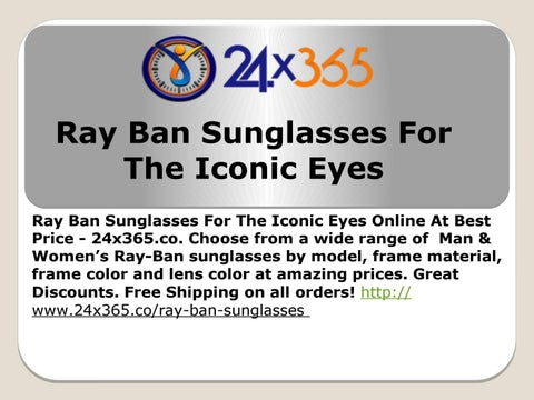 4db3bb8a4cb Ray ban sunglasses for the iconic eyesRay Ban Sunglasses For The Iconic Eyes