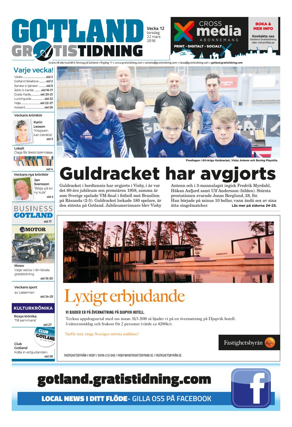 Trans Sker Par Visby, Kontaktannons Svenska Ludvika