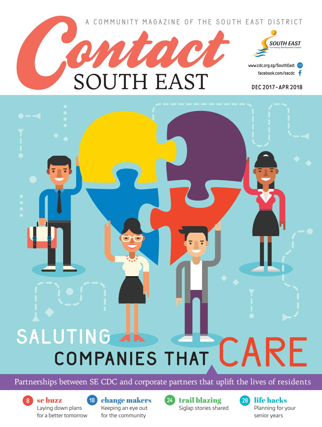 Contact South East Magazine Dec 2017 Apr 2018 By South East