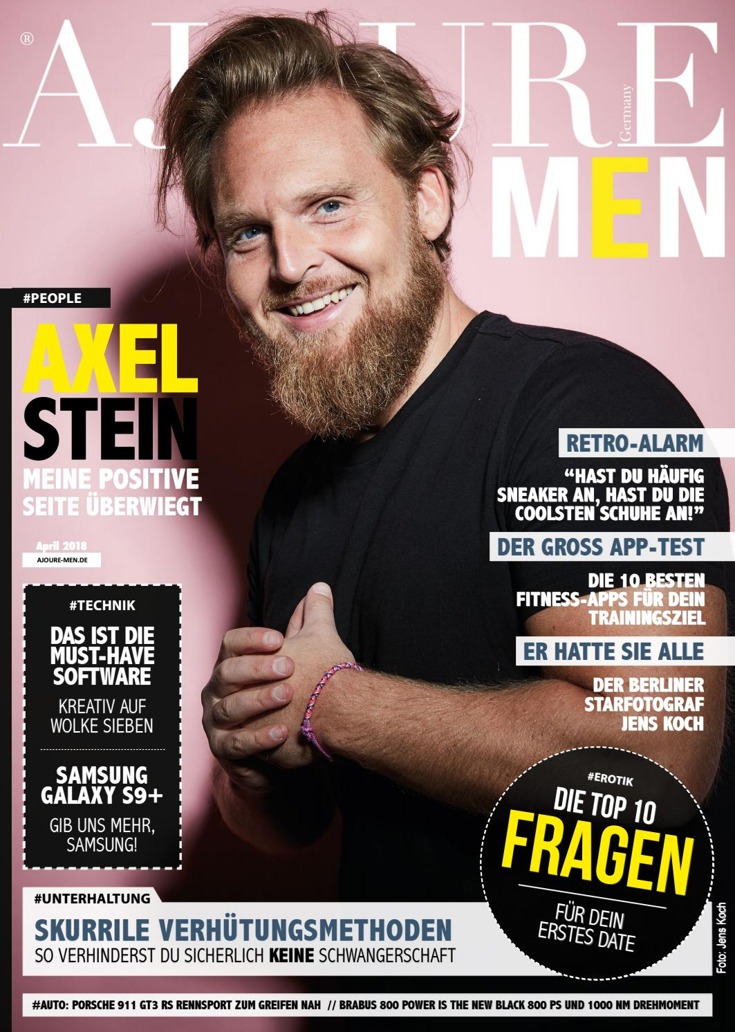 Ajoure Men Magazin April 2018 By Germany Issuu Vorsatz A1 Complete Hair Loss Treatment Systems