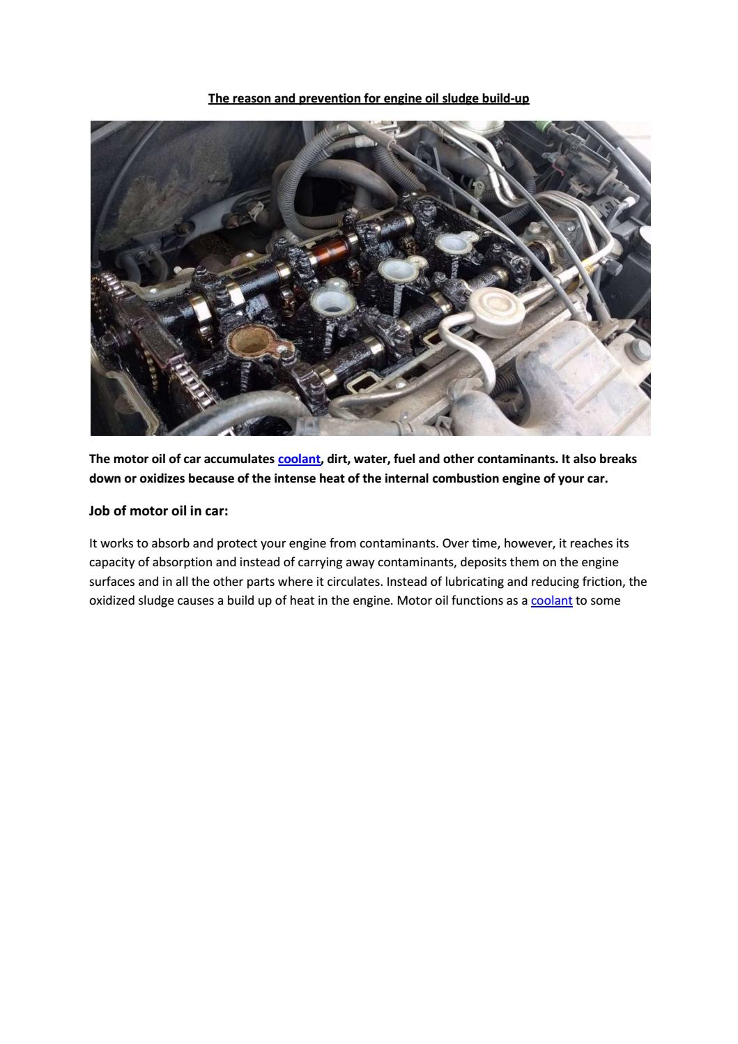 Partsavatar Car Parts, Canada - The reason and prevention for engine ...