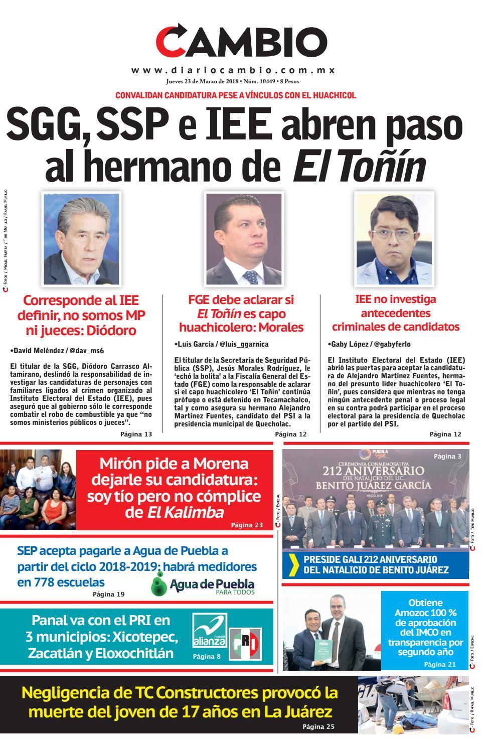 Diario Cambio by Diario Cambio - issuu