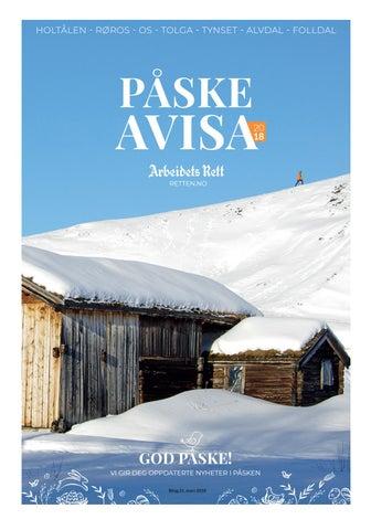 7719d02d Påskeavisa 2018 by Amedia Annonseproduksjon AS - issuu