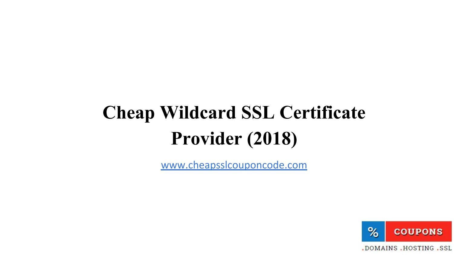 Cheap Wildcard Ssl By Cheap Ssl Coupon Code Issuu