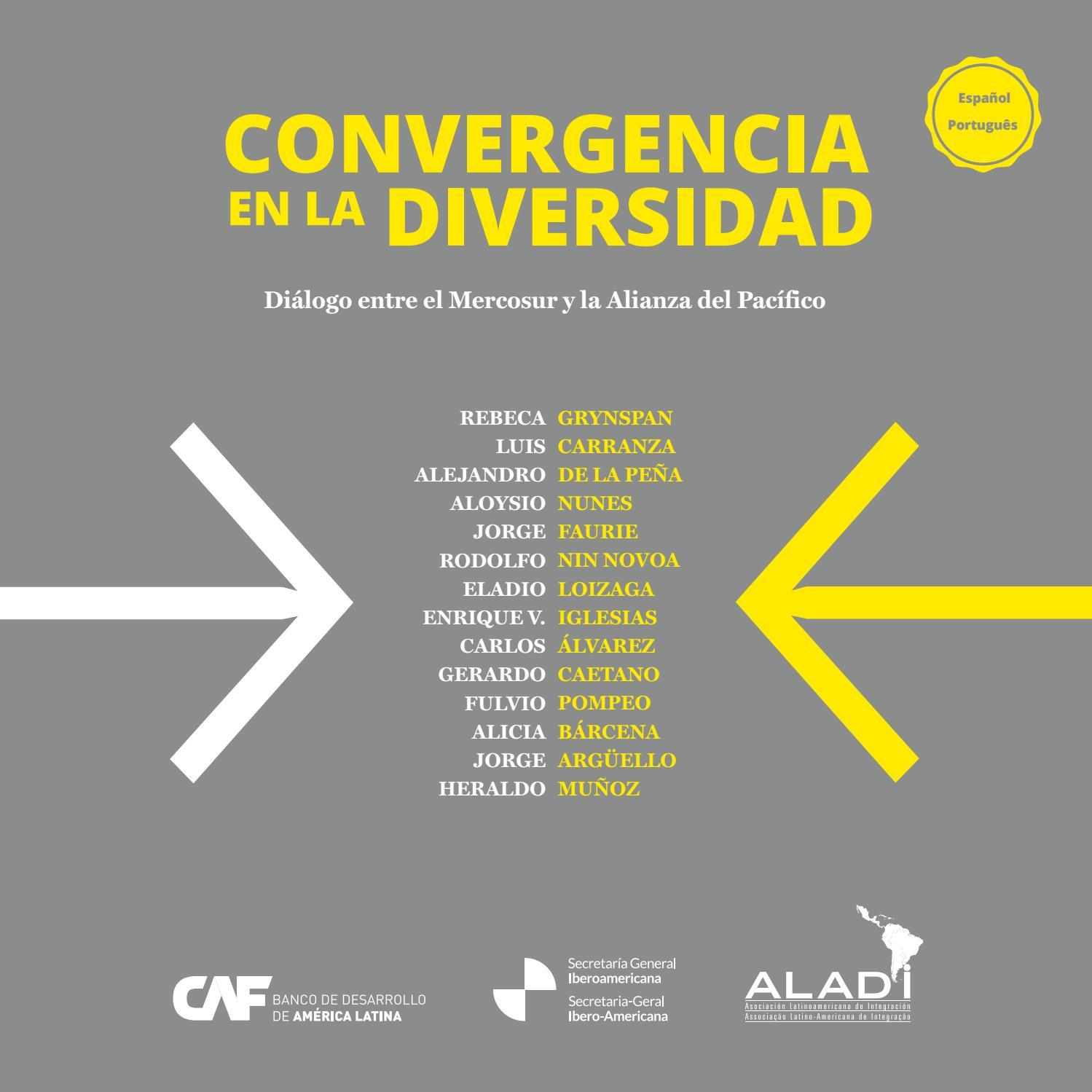 Convergencia En La Diversidad By Secretaría General