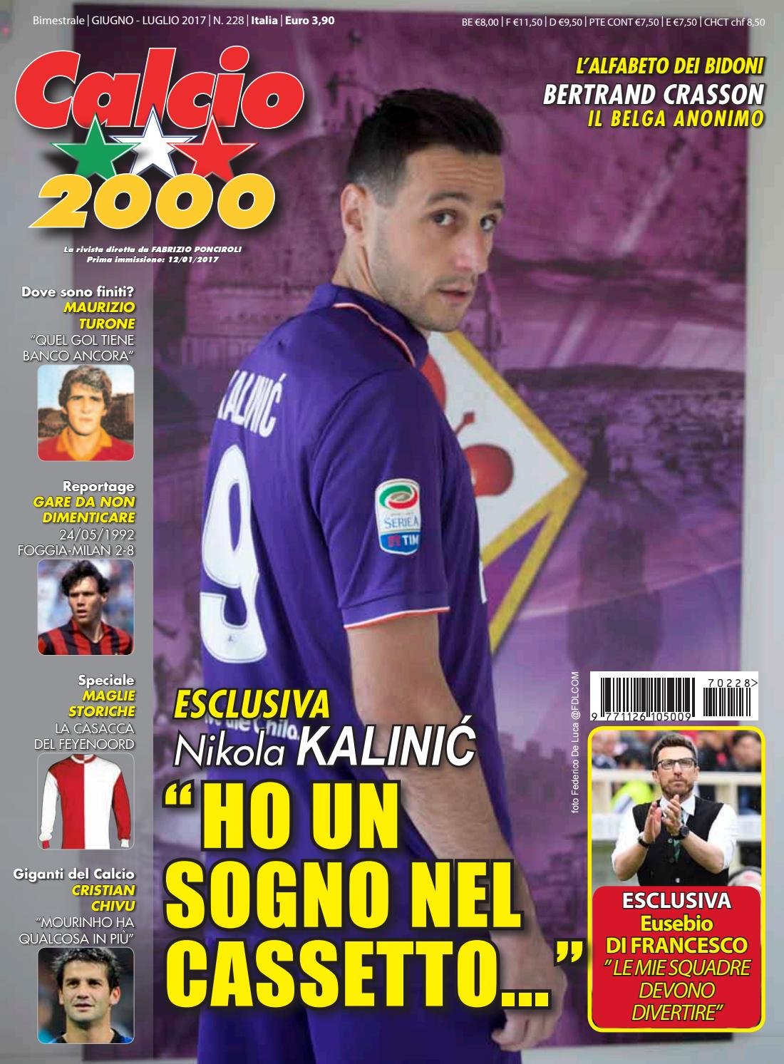 6f57a763e Calcio 2000 n.228 by TC&C SRL - issuu