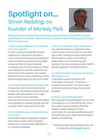 Page 6 of Spotlight on Simon Redding, co-founder, Monkey Park