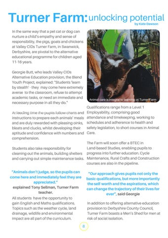 Page 8 of Turner Farm feature, THE GOOD TIMES