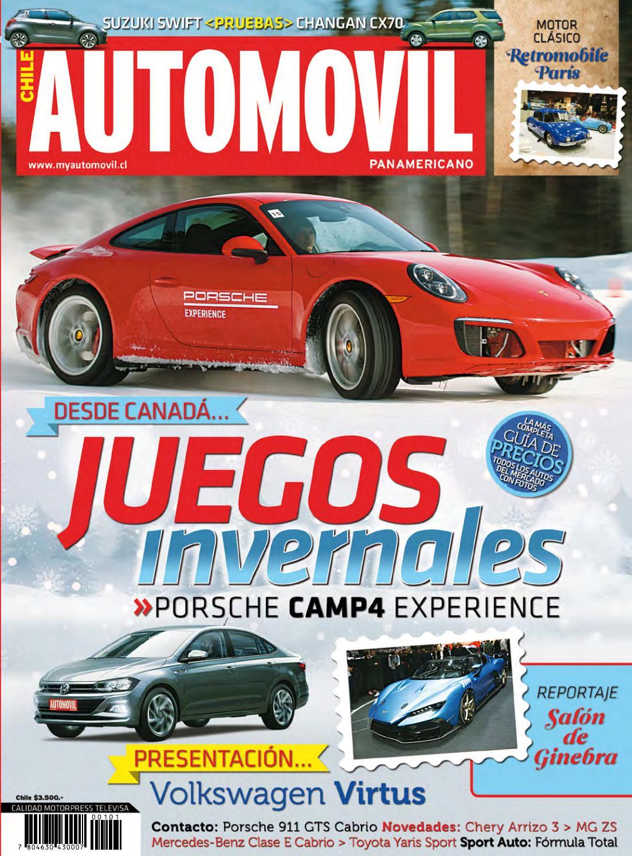 Revista Automóvil Panamericano Edición Chilena Nº101 (Marzo 2018) by ...
