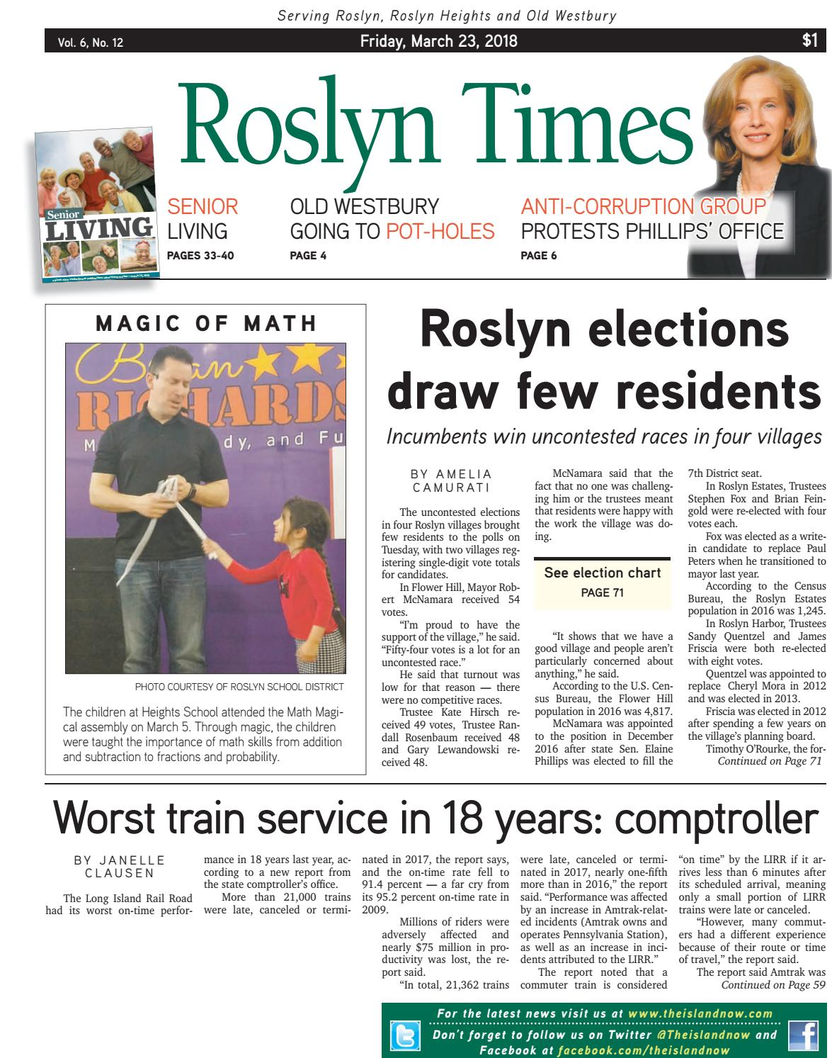 Roslyn 2018 03 23 by The Island Now - issuu