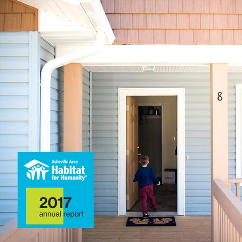 2016 annual report digital by asheville area habitat for humanity 2017 annual report asheville area habitat for humanity malvernweather Images
