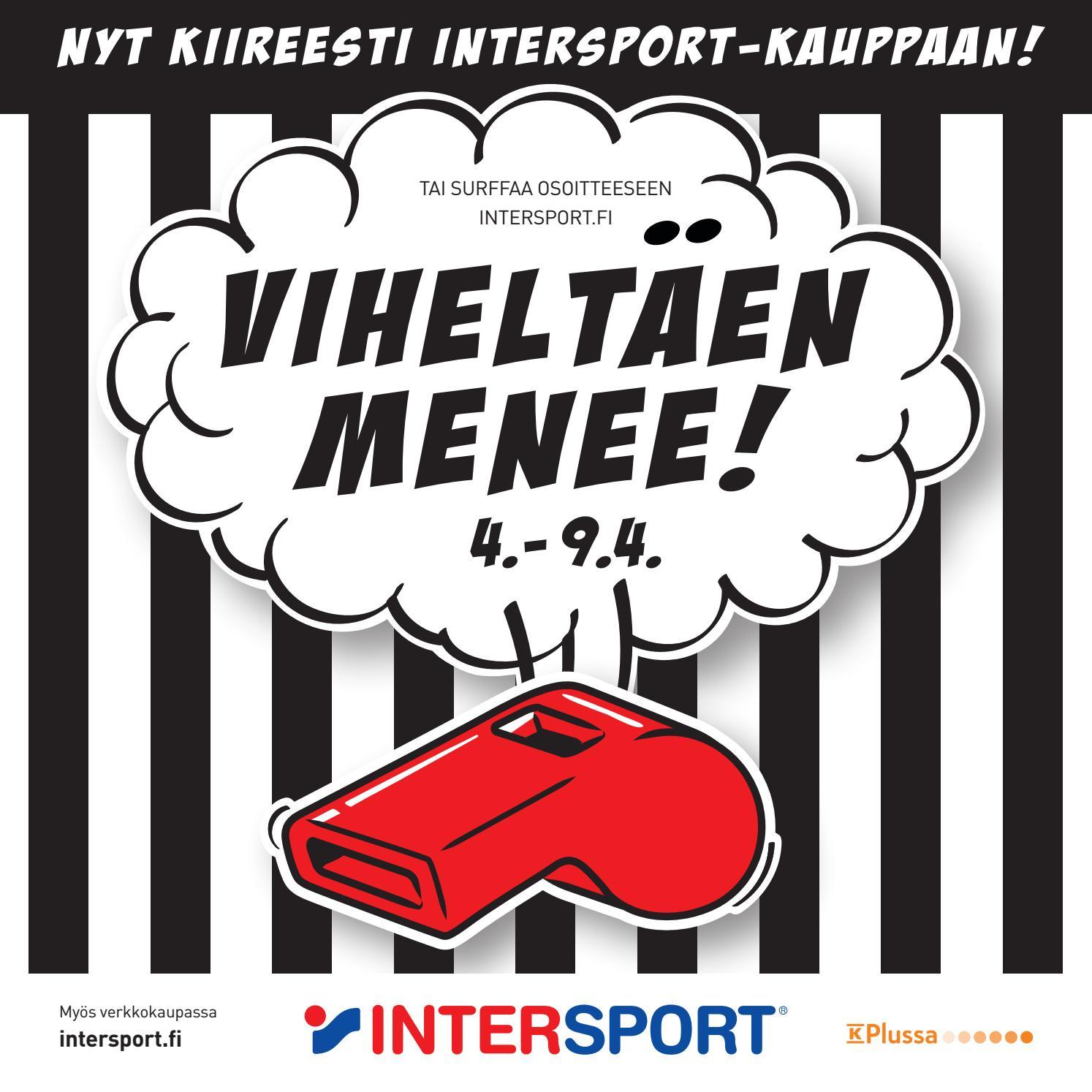 Viheltäen menee 4.-9.4. by Intersport Finland - issuu cce18a3311