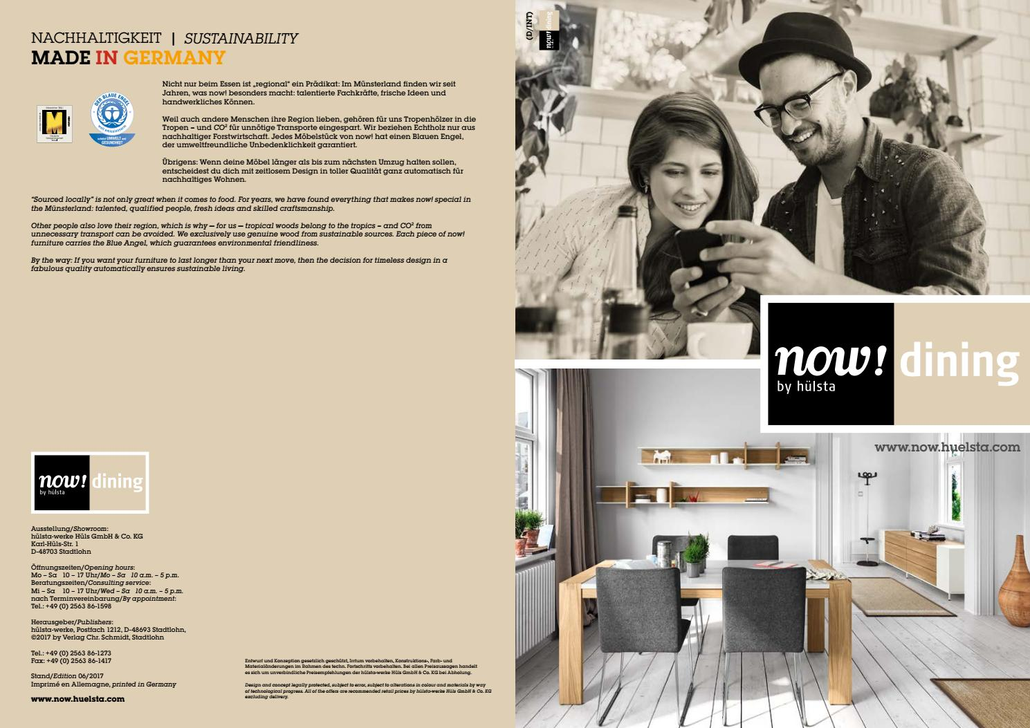 Hülsta Now Dining Brochure By Innoconcept Design Issuu