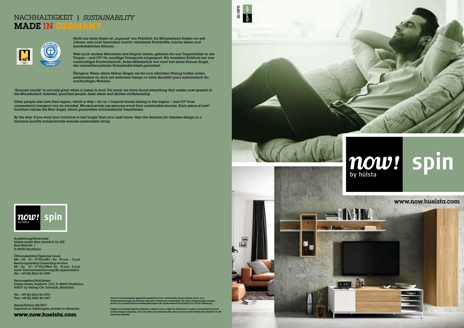 Hülsta Now Spin Brochure By Innoconcept Design Issuu
