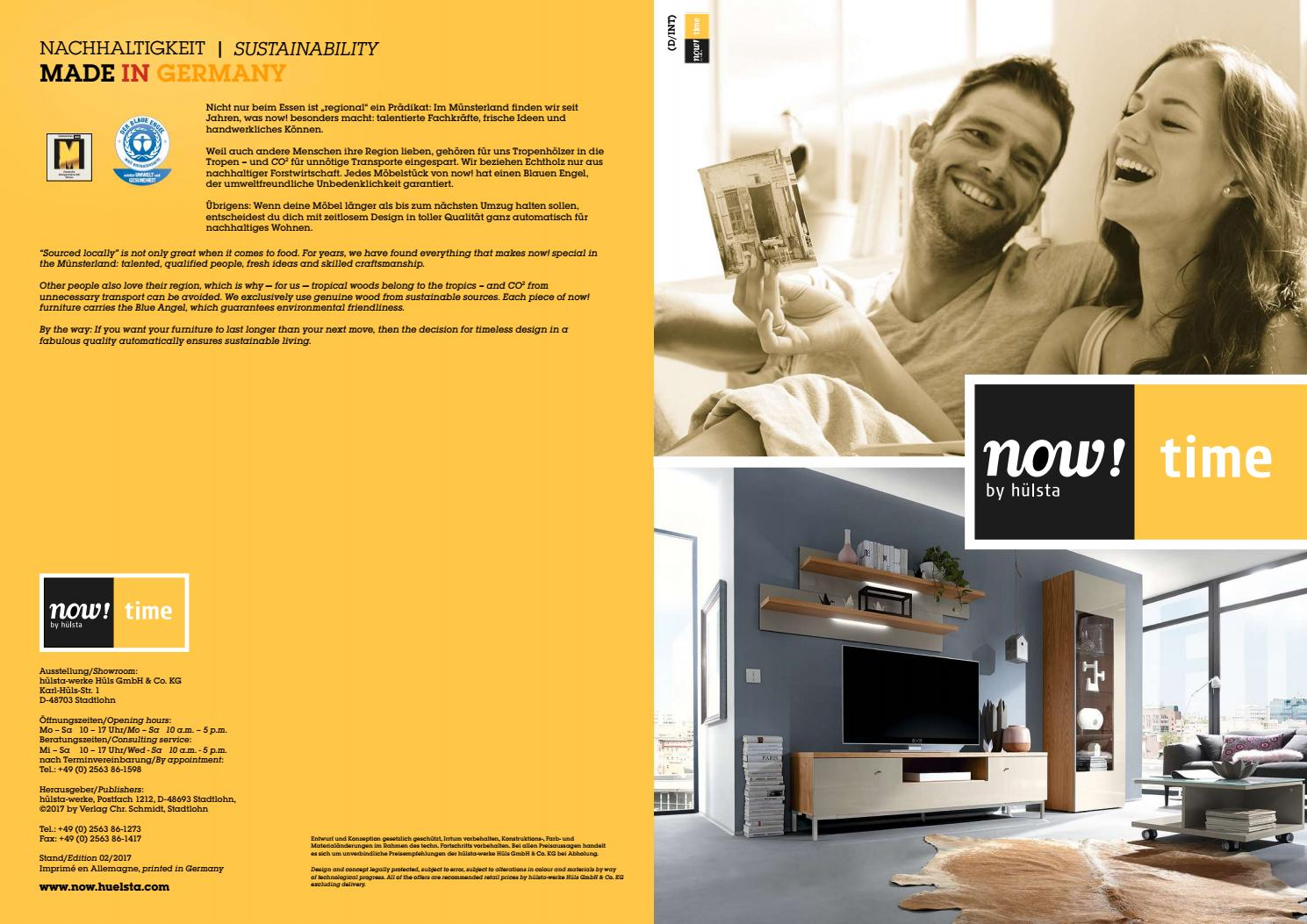 Hülsta Now Time Brochure By Innoconcept Design Issuu
