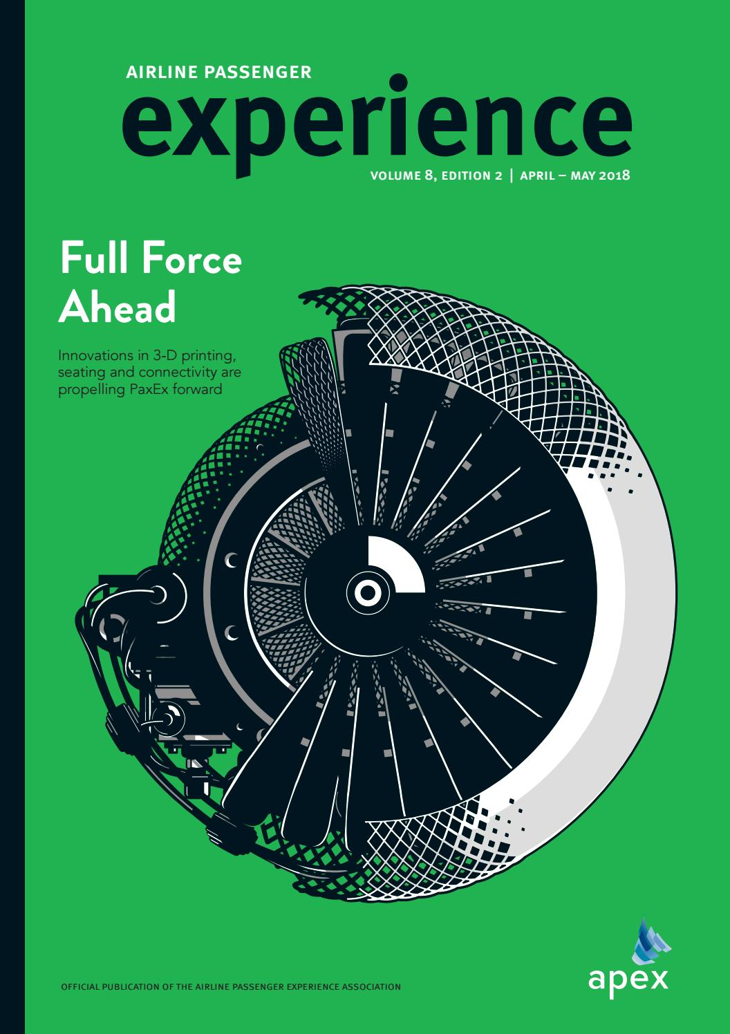 APEX Experience 8 2 April / May 2018 by Spafax - issuu
