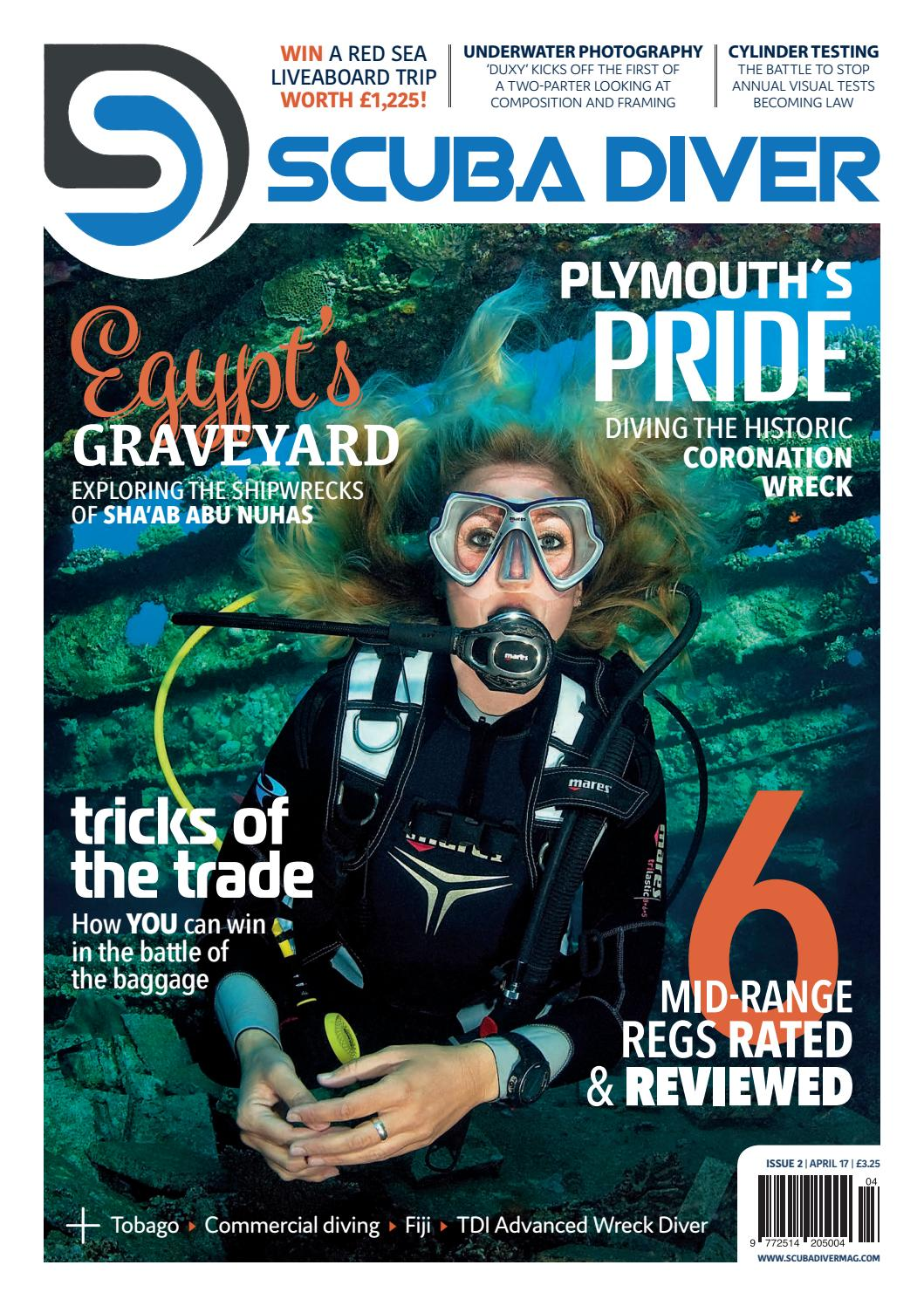 Scuba Diver April 17 Issue 2 By Scubadivermag Issuu Torch Messenger Bag Odate Abu