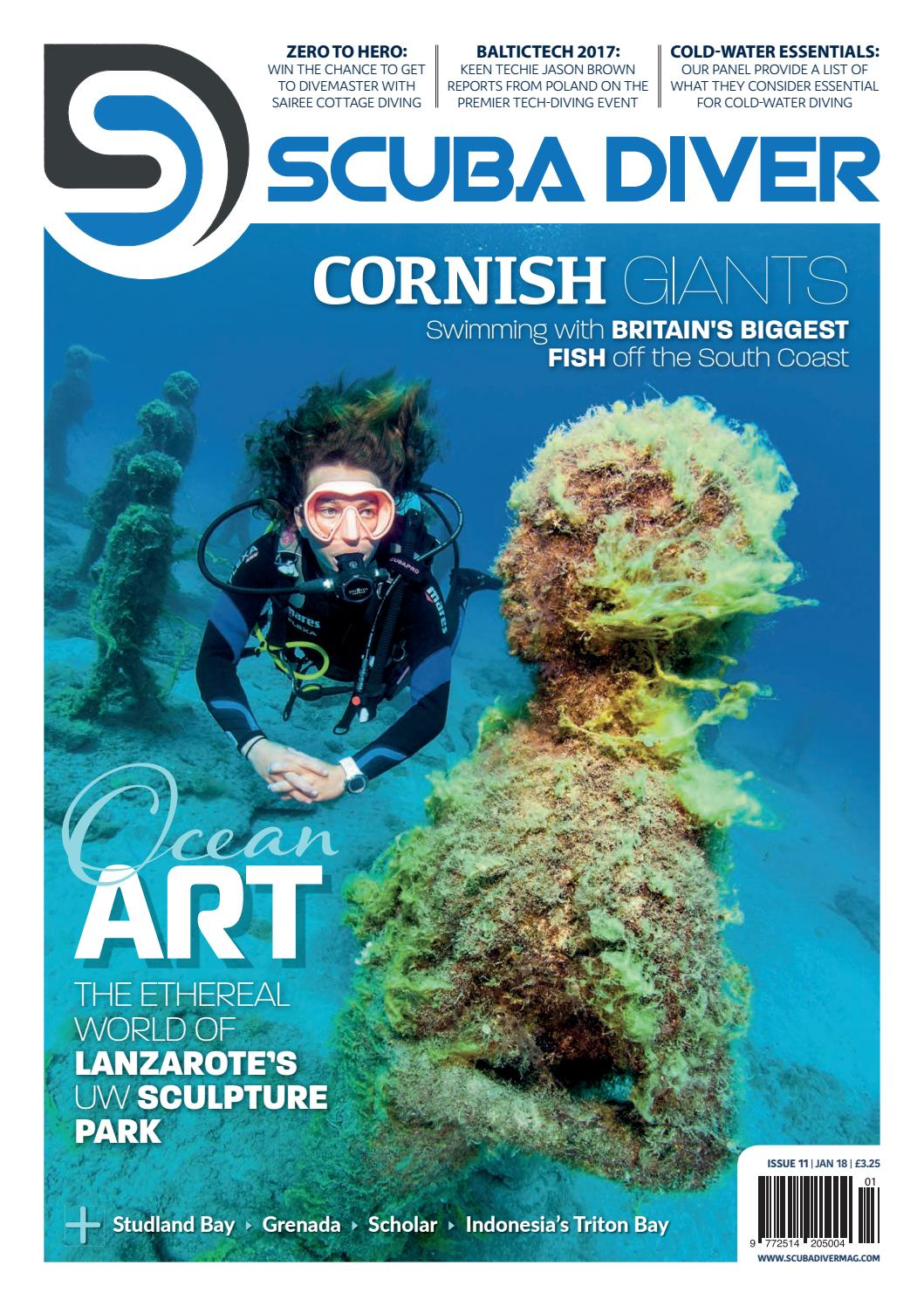 Scuba Diver January 18 Issue 11 By Scubadivermag Issuu