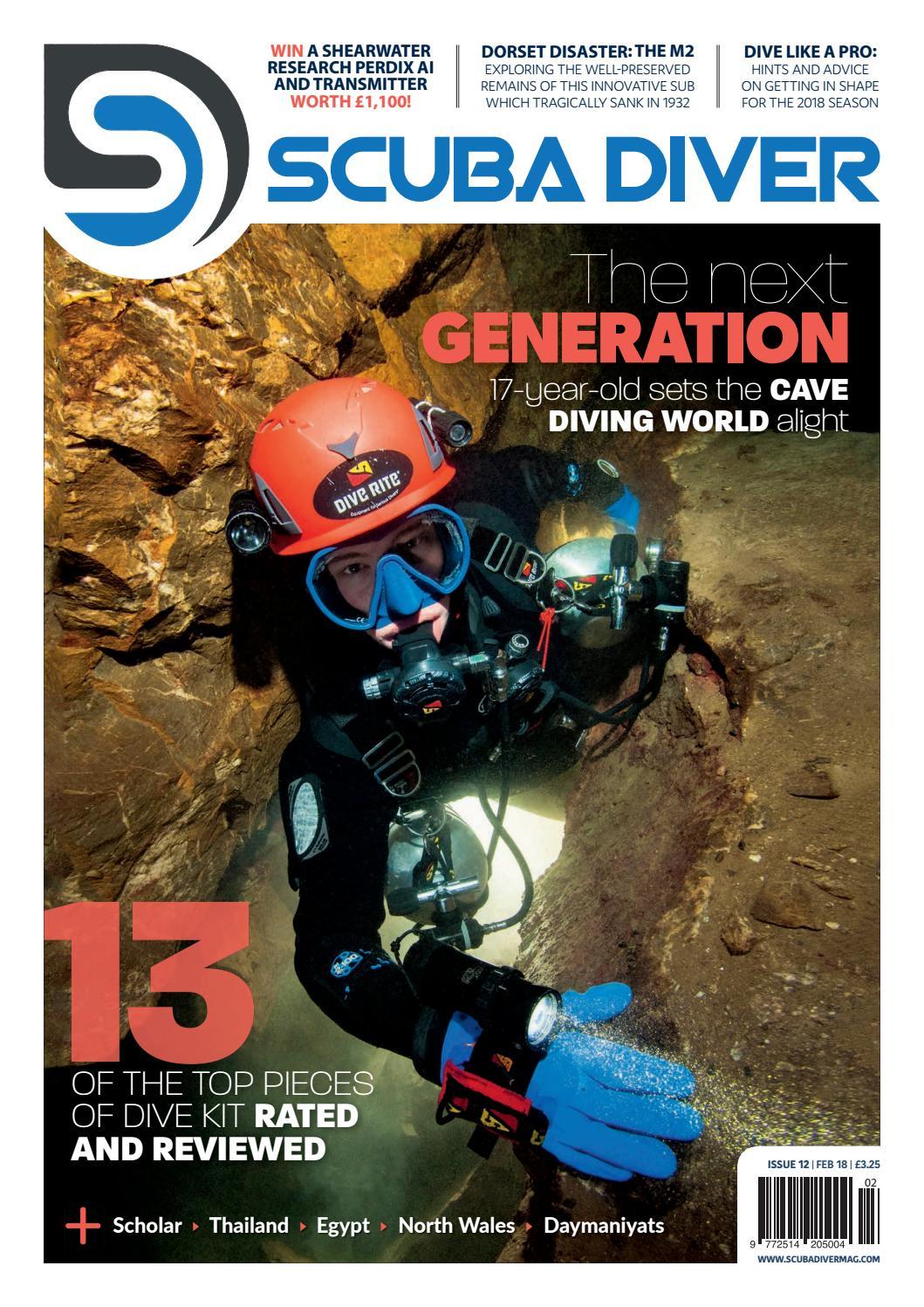 ed2b545432f2 Scuba Diver Febraury 18 - Issue 12 by scubadivermag - issuu