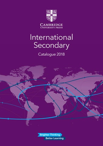 International secondary catalogue 2018 by cambridge university press page 1 fandeluxe Gallery