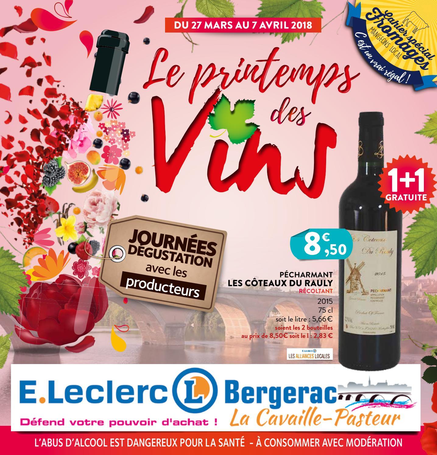 Foire Aux Vins De Printemps E Leclerc De Bergerac By Origamiq Issuu