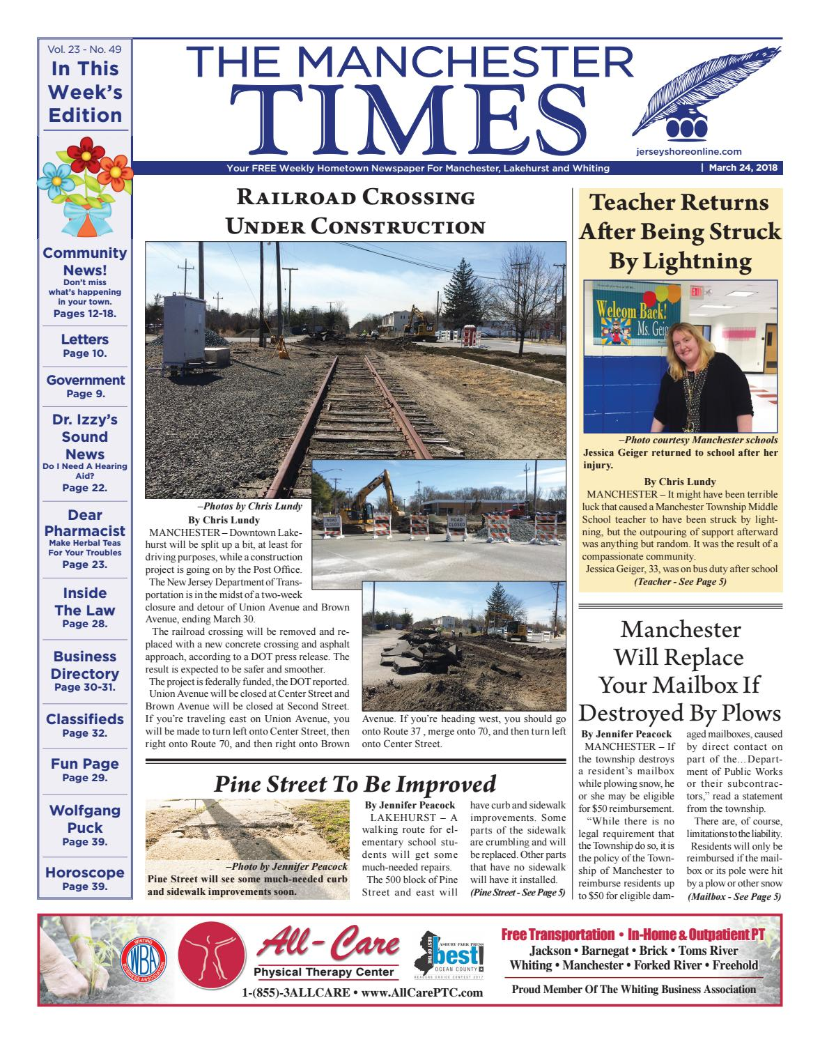 2018-03-24 - The Manchester Times by Micromedia Publications