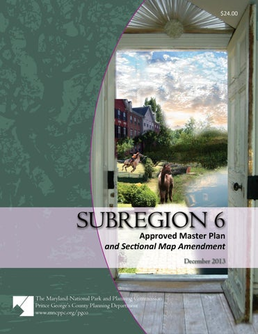 Approved Subregion 6 Master Plan And Sectional Map Amendmentsub 6