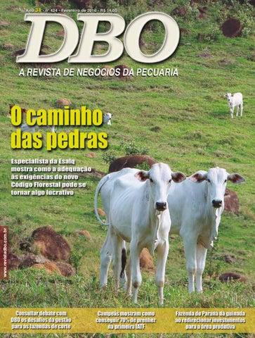 Revista DBO 424 - Fevereiro 2016 by portaldbo - issuu 9c1e494519c