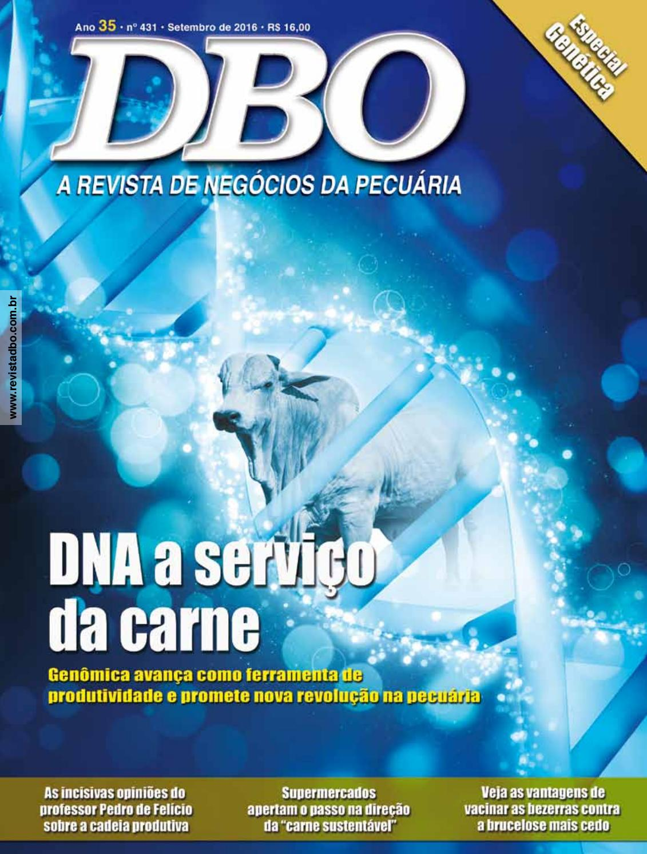 0dda2ca5d4 Revista DBO 431 - Setembro 2016 by portaldbo - issuu