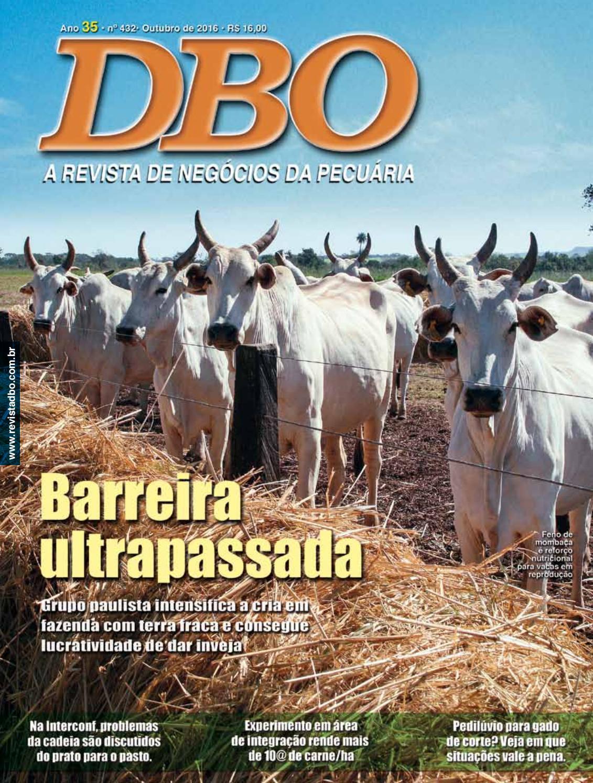 Revista DBO 432 - Outubro 432 by portaldbo - issuu 885fb0c3bf