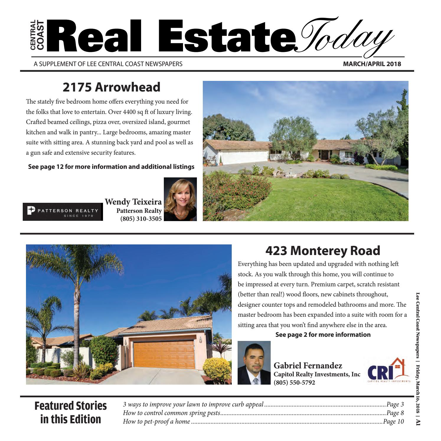 Real Estate Today by Lee Central Coast Newspapers - issuu