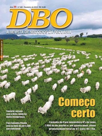 Revista DBO 448 - Fevereiro 2018 by portaldbo - issuu 58549fd4767