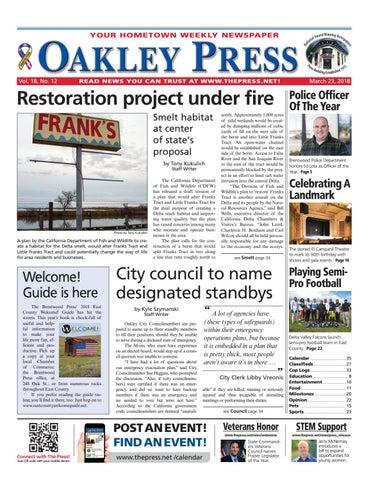 8dcf2745d3 Oakley Press 03.23.18 by Brentwood Press   Publishing - issuu
