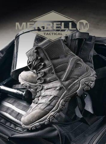 Merrell Tactical Footwear Catalogue