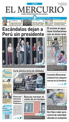 hemeroteca 22-03-2018 by Diario El Mercurio Cuenca - issuu 2e697dbf546
