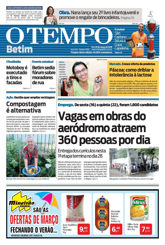 O Tempo Betim - 23 a 29 de março de 2018 by Tecnologia Sempre Editora -  issuu cce38551aae