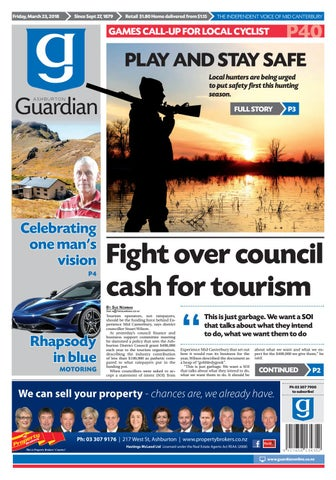 a44e778abc6 Ag 23 march, 2018 by Ashburton Guardian - issuu
