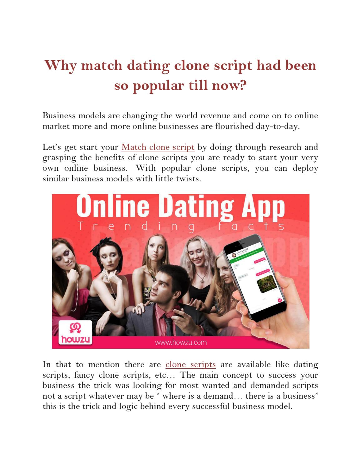 Why do you think online dating is so popular