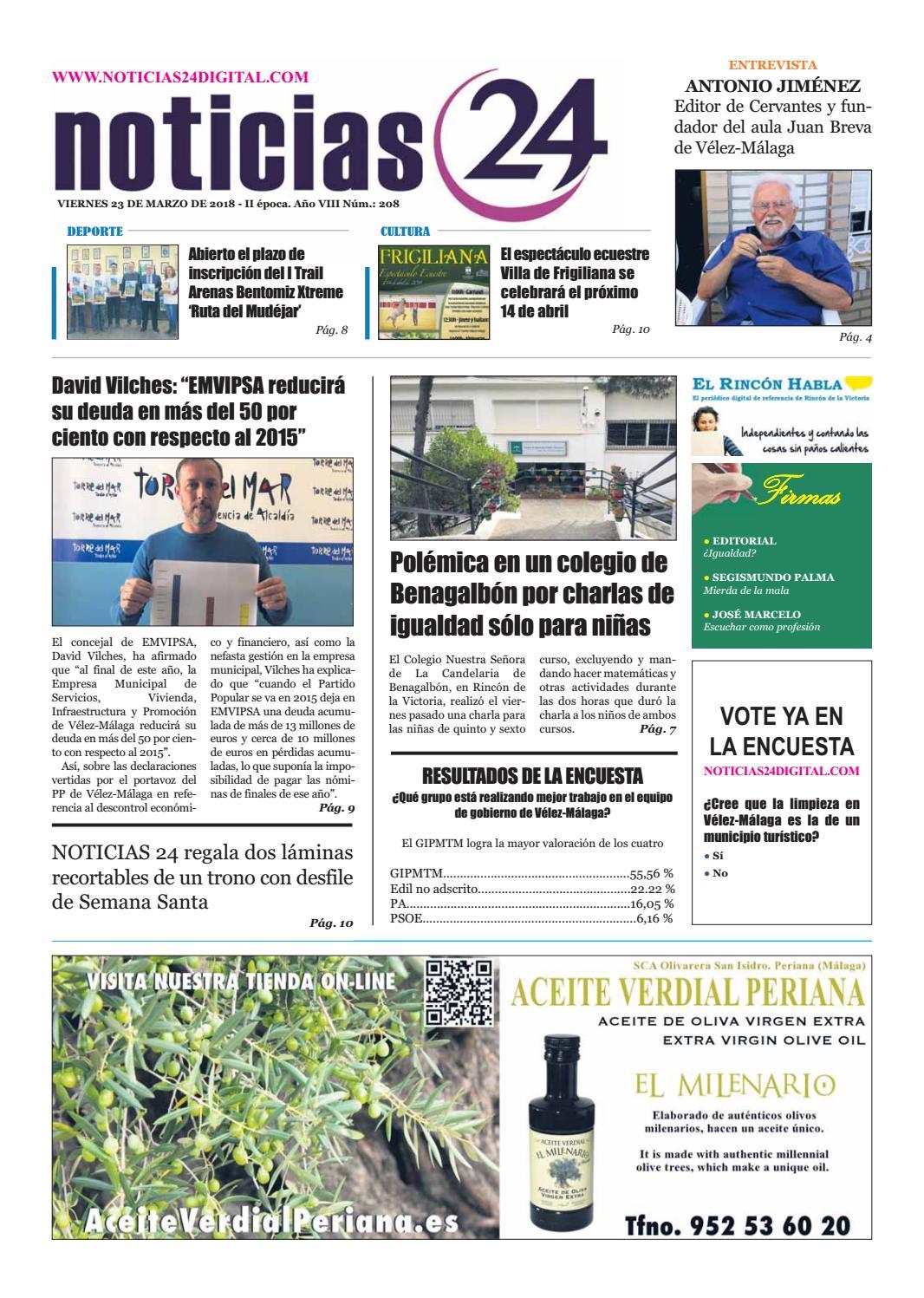 Num208 23032018 Habla By Issuu El Rincón Noticias24 PXTwOukZi