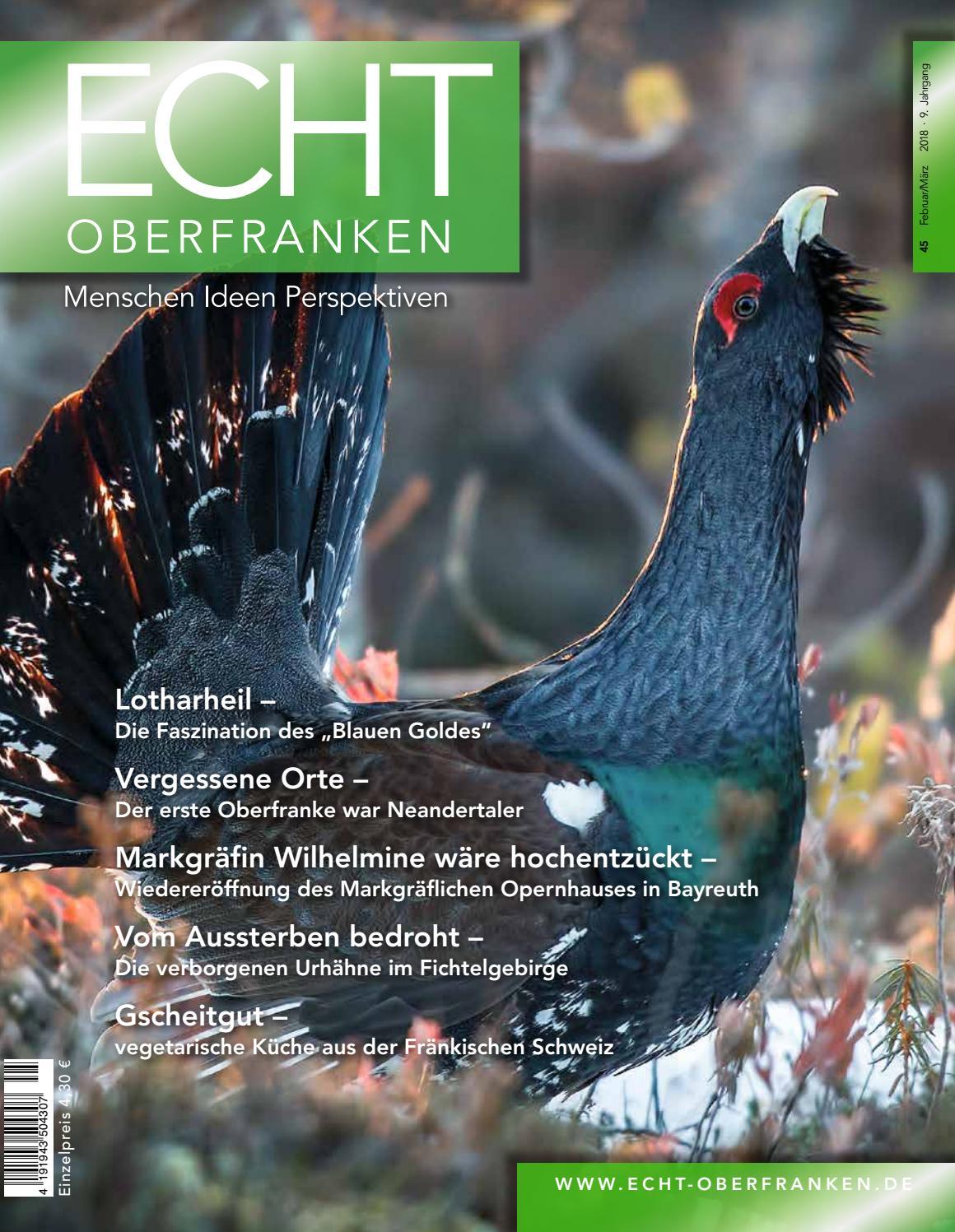 ECHT Oberfranken - Ausgabe 45 by Kober Verlag und Marketing - issuu