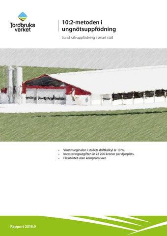 10 2-metoden i ungnötsuppfödning Sund kalvuppfödning i smart stall e332b18e31e0d