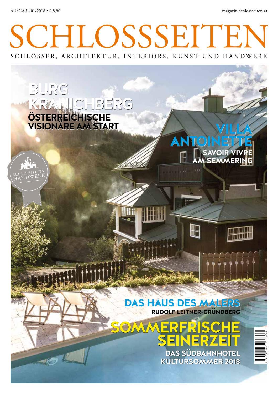 Schlossseiten Ausgabe 01 2018 by Schlossseiten - issuu