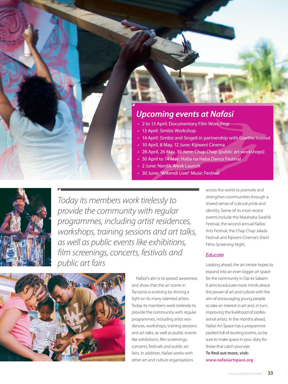 Paa Tanzania – issue 90 by Land & Marine Publications Ltd  - issuu