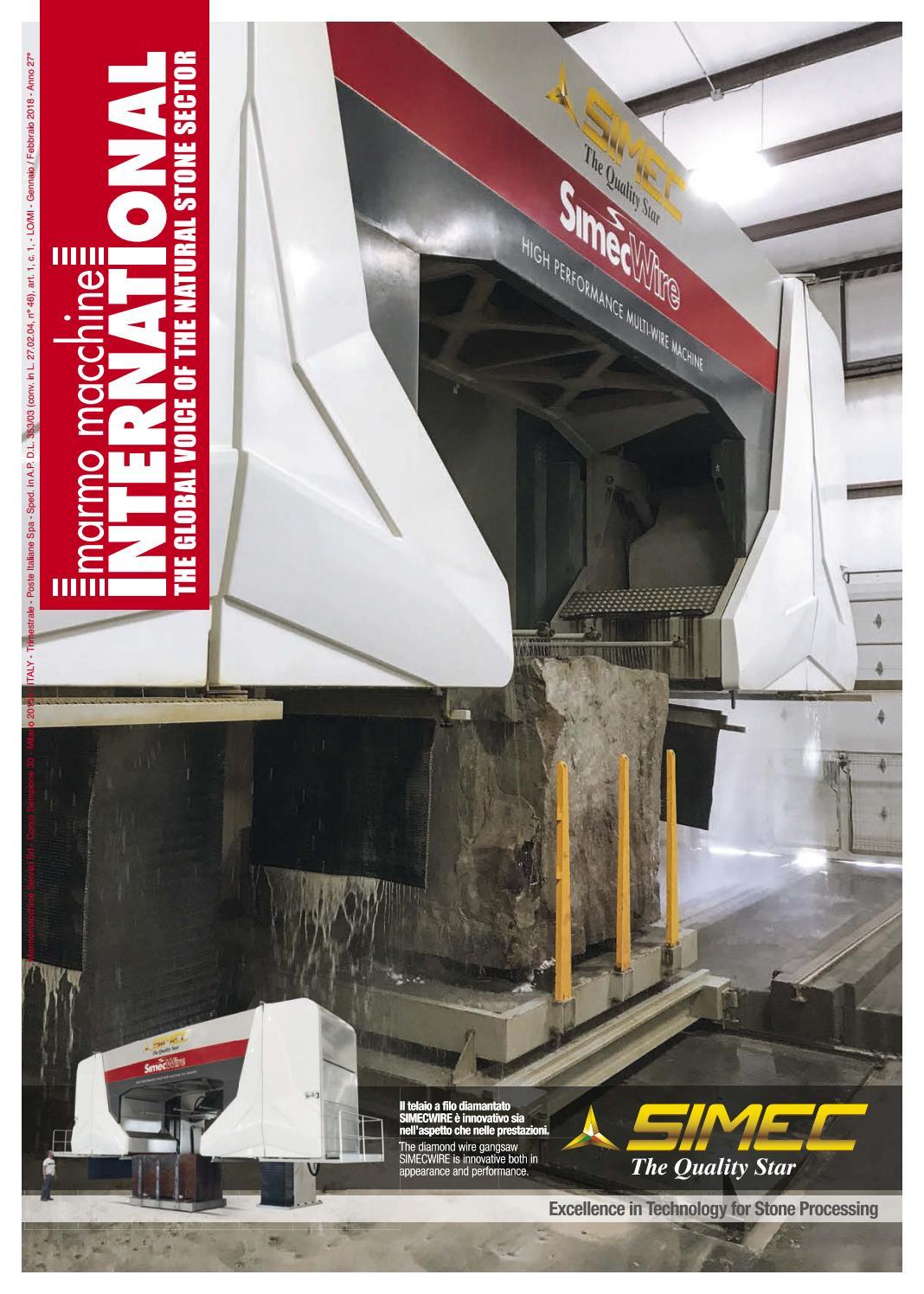 Marmo Macchine International n. 100 by Marmo Macchine International - issuu de637b3a8df3
