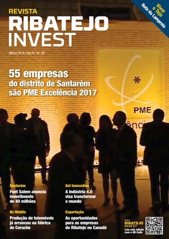 b2c6808c1 Ribatejo Invest / Março 2018 by NERSANT Associação Empresarial - issuu
