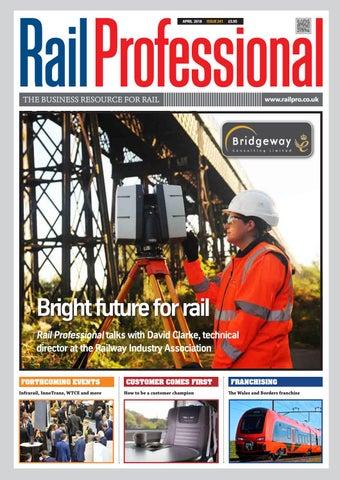 Rail Professional April 2018 By Rail Professional Magazine Issuu