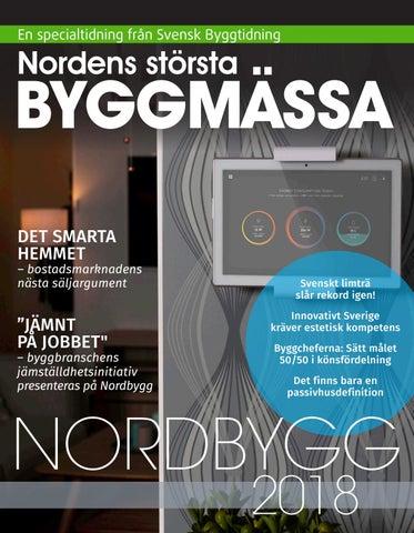 86a0519aec Nordbygg 2018 by Stordåhd Kommunikation AB - issuu