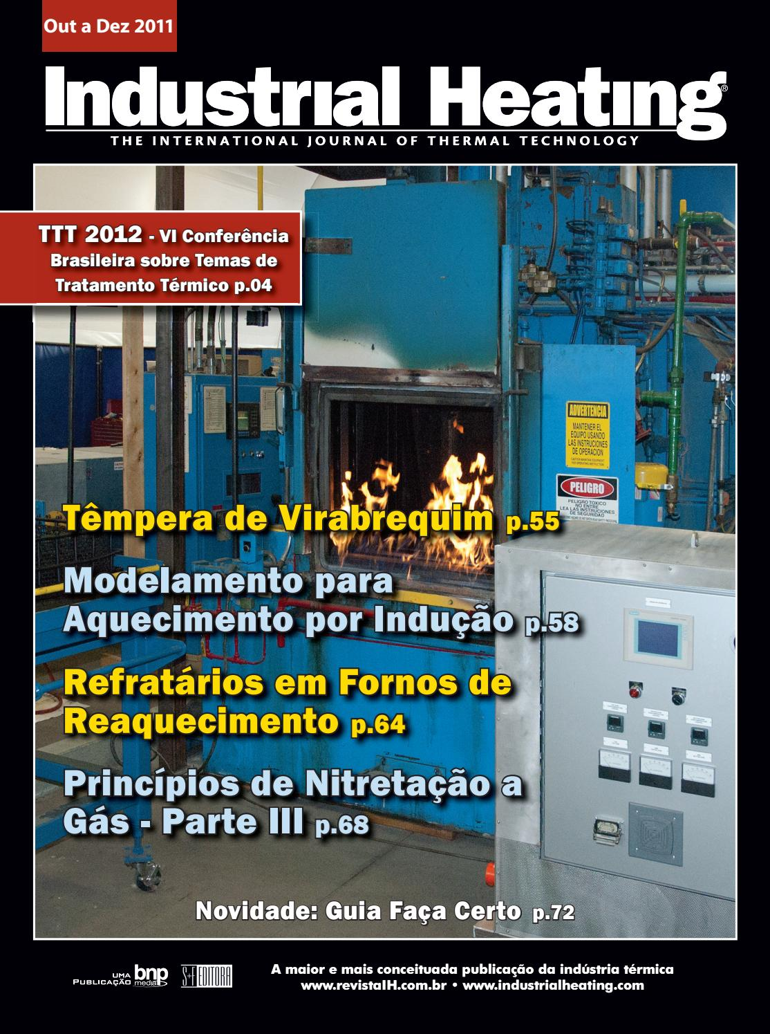 16d7f6b7ed6 Revista Industrial Heating - Out a Dez 2011 by S+F Editora - issuu