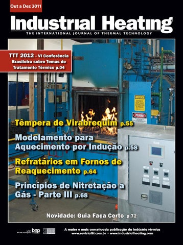 37e66e0bd24d8 Revista Industrial Heating - Out a Dez 2011 by S+F Editora - issuu