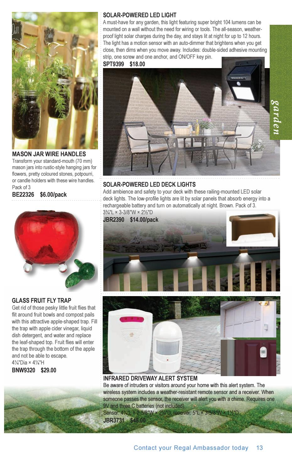 Regal Catalogue 2018-2 Spring by Regal Home & Gifts Inc  - issuu